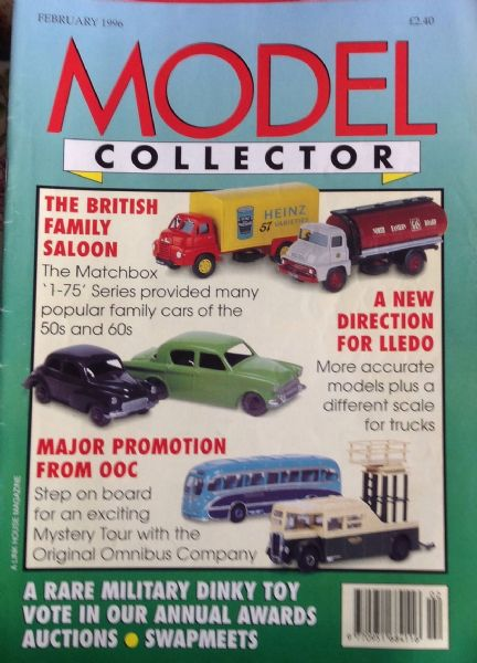 ORIGINAL MODEL COLLECTOR MAGAZINE February 1996